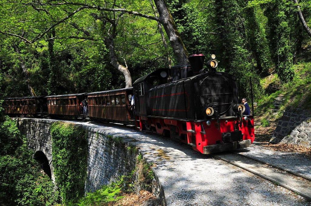 Vozić za turiste na Pelionu - lepa uspomena i za decu i za odrasle