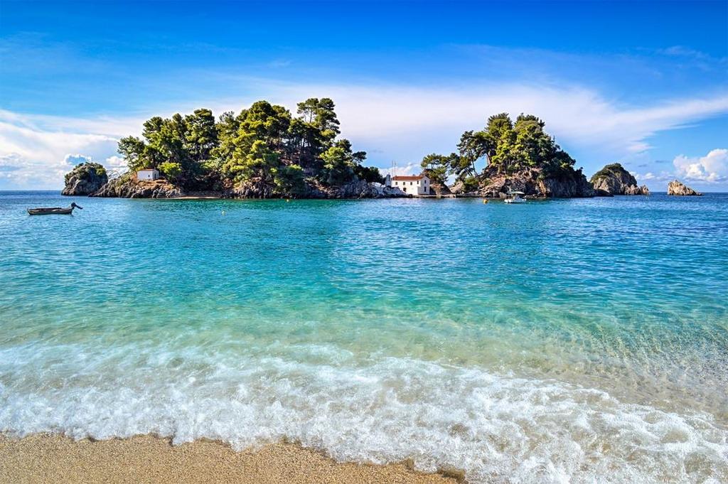 Krioneri: gradska plaža Parge