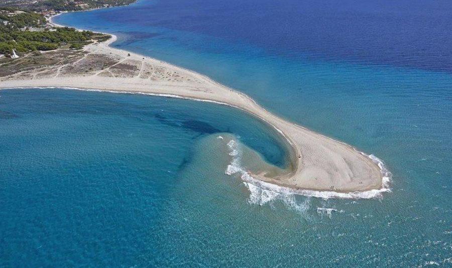 Possidi rt: plaža koja nikada nije ista