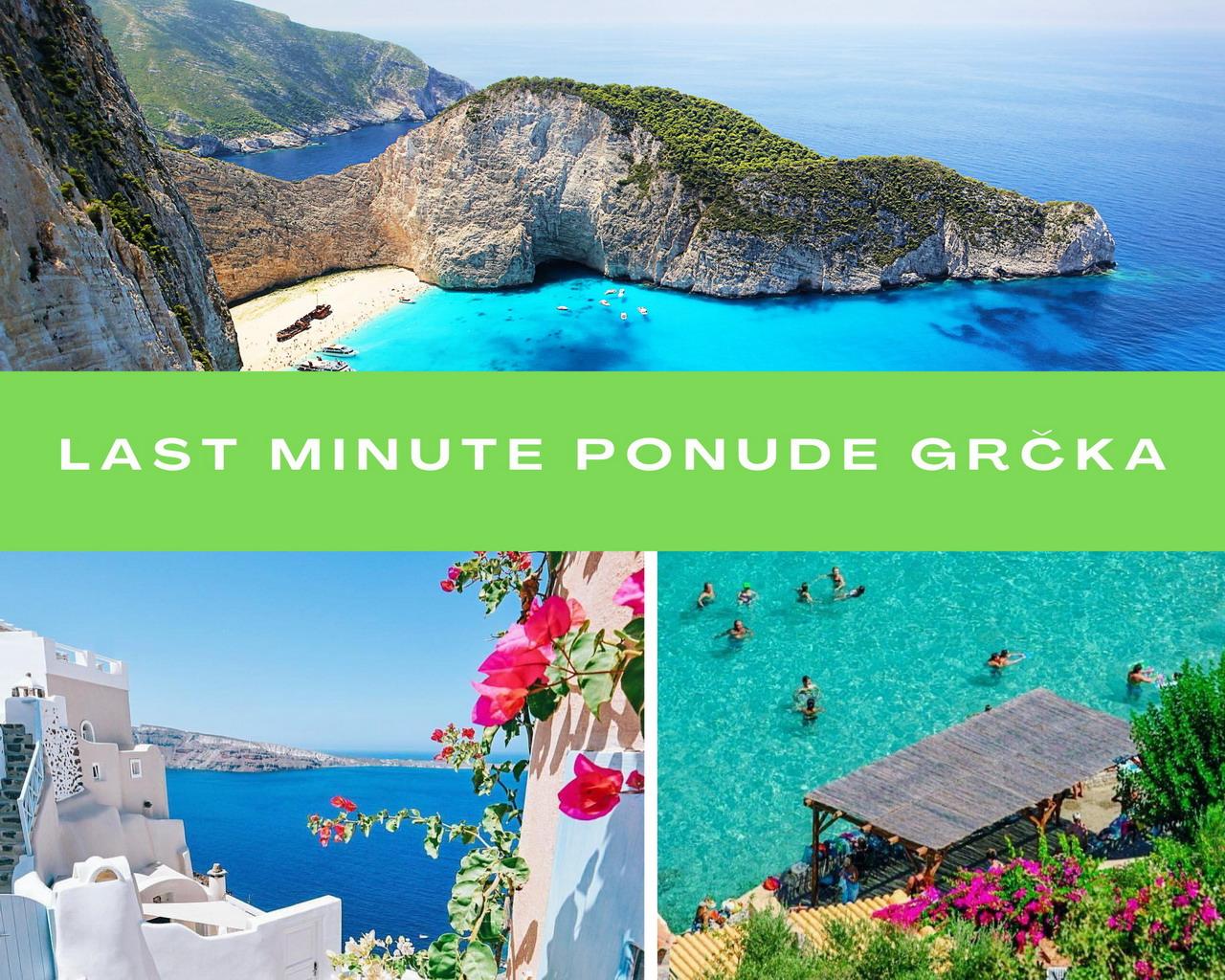 Last minute ponude Grčka 2021