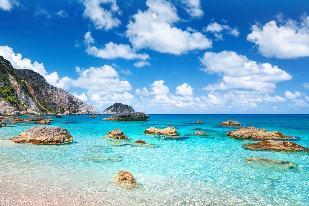 Petani - jedna od 3 najlepše plaže Kefalonije