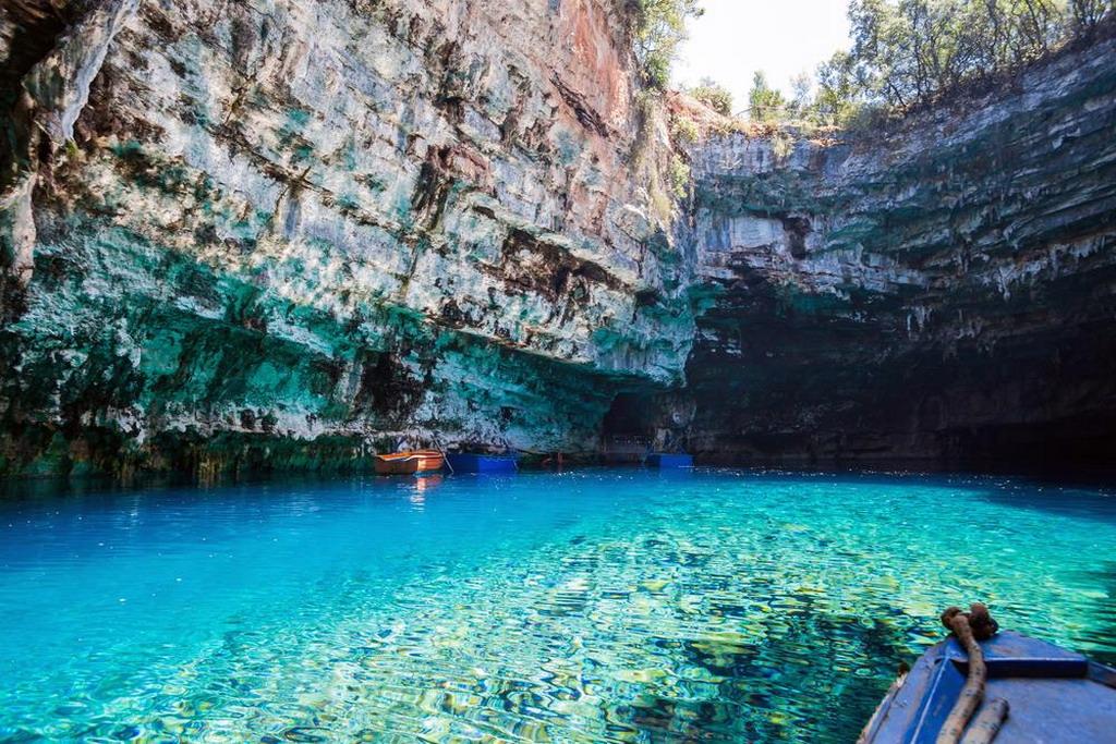 Poseta pećini Melisani na Kefaloniji