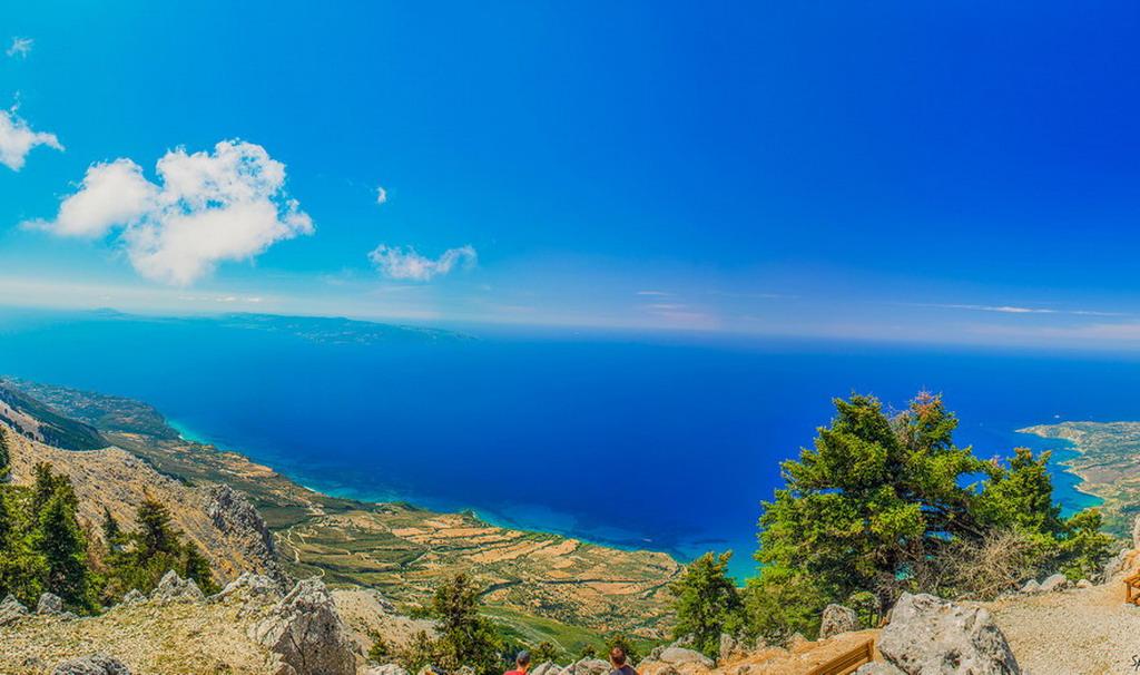 Nacionalni park Ainos - najlepši pogled na Kefaloniju