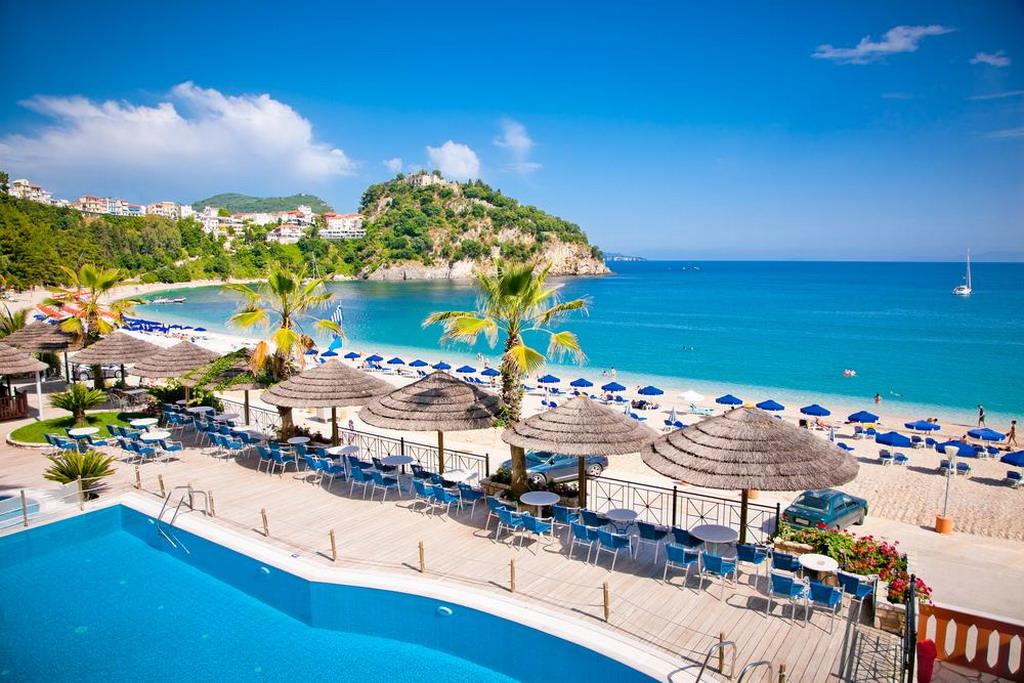 Valtos - najlepša plaža Parge
