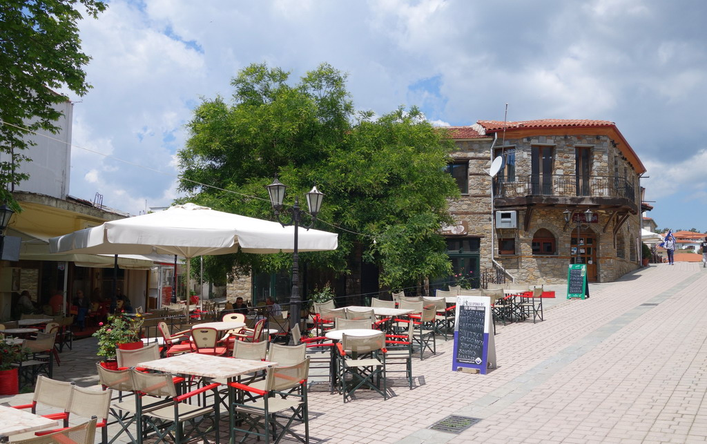 Poligiros, glavni grad poluostrva Halkidiki