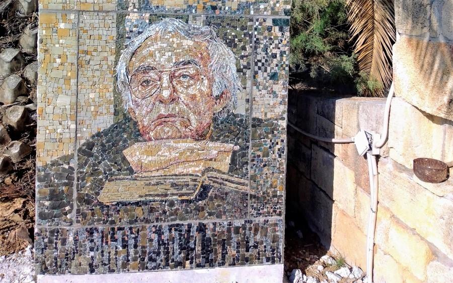 Na Kefaloniji postavljen mozaički portret Mome Kapora