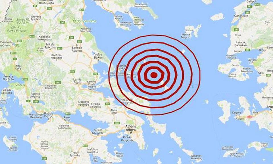 Snažan zemljotres kod ostrva Skiros u Grčkoj