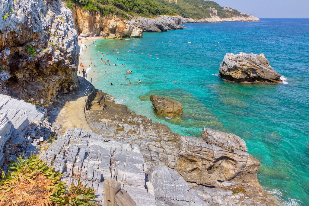Milopotamos plaža - Pelion