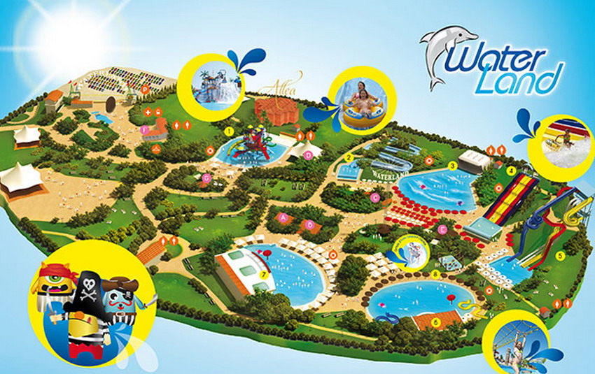 Waterland aquapark Solun