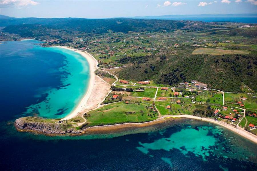 Plaža Trani Ammouda (Livrohio) - Sitonija