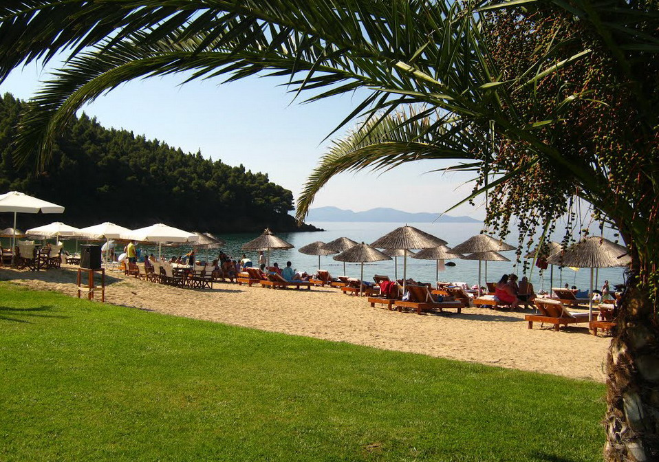 Komitsa plaža - Nea Roda, Atos