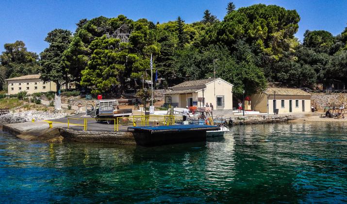 Ostrvo Vido i srpska kuća na Krfu