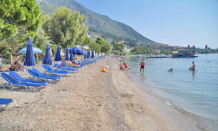 Nidri plaža - Lefkada