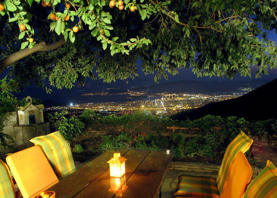 Makrinitsa, balkon Peliona