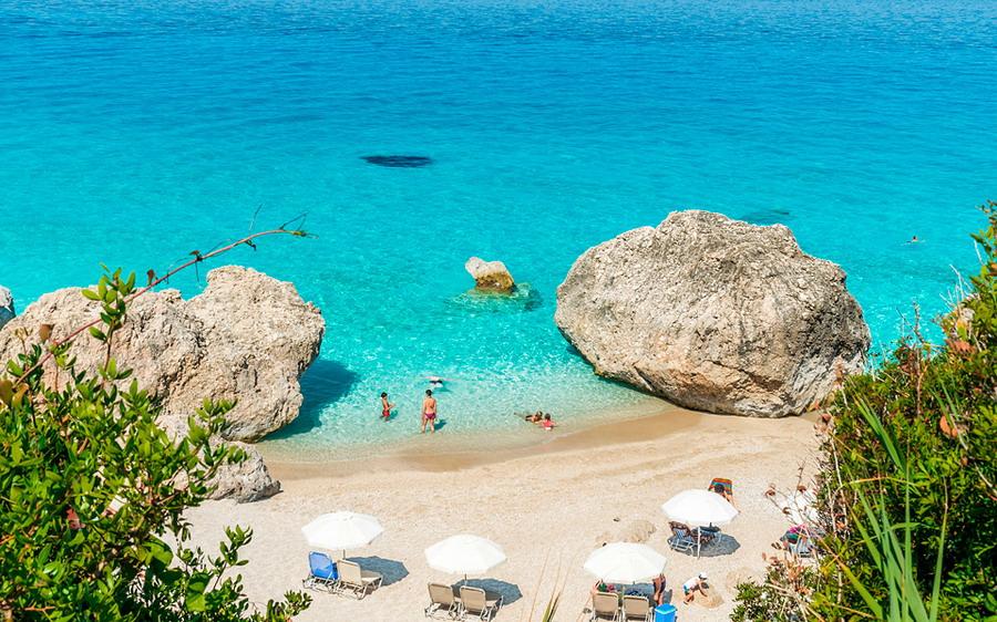 Kavalikefta plaža - Lefkada