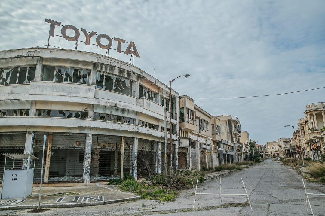 Varoša - grad duhova na Kipru