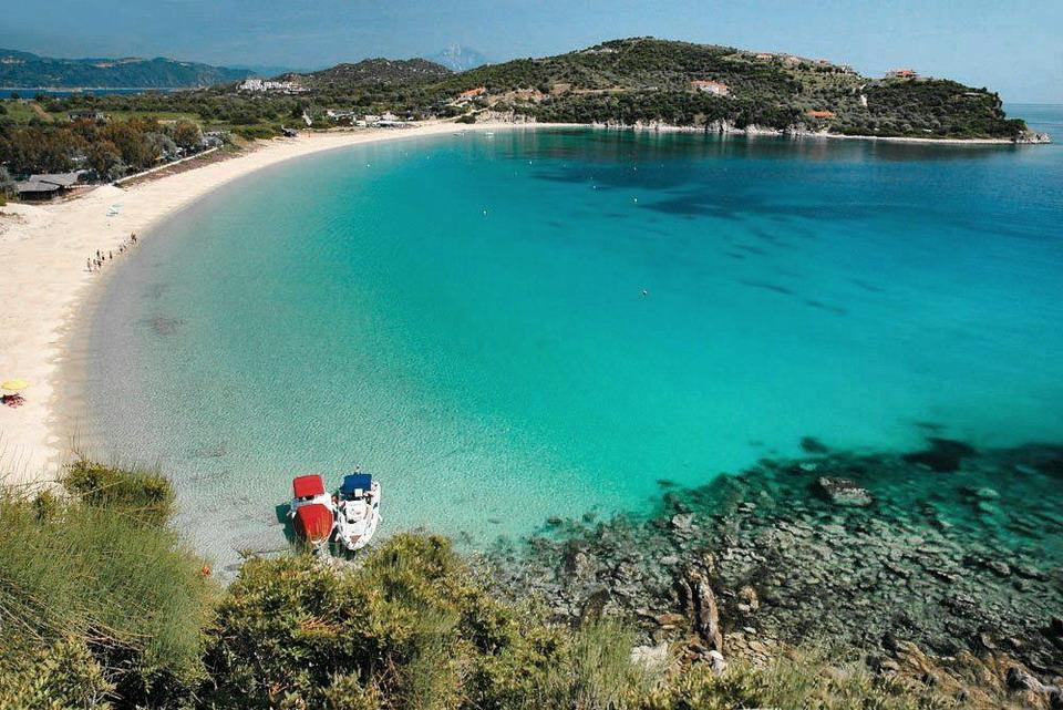 Najlepše plaže na ostrvu Amuljani (Ammouliani) - Atos