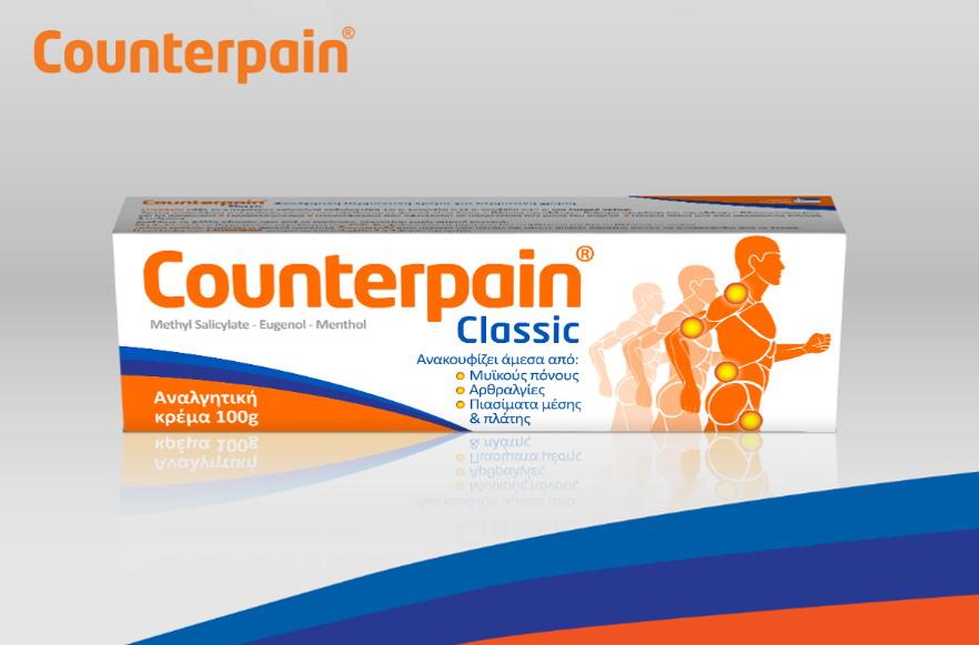Gde u Srbiji kupiti Counterpain kremu za bolove
