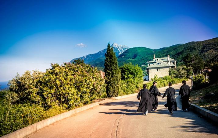 Manastiri i poseta Svetoj Gori - Atosu
