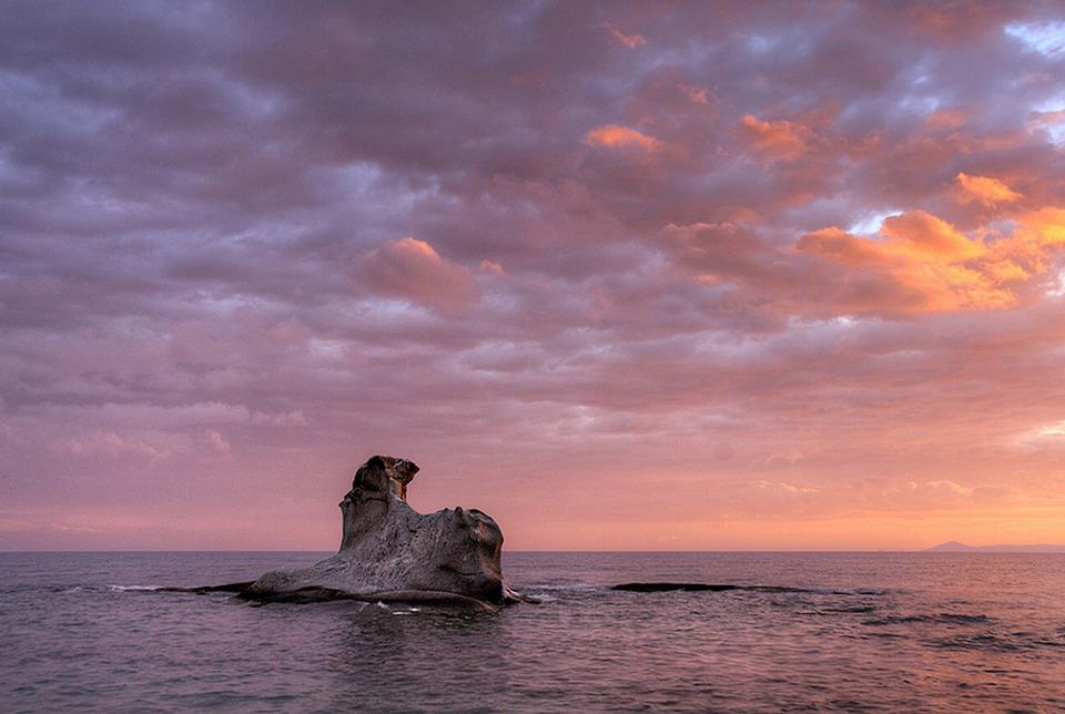 Kakoudia plaža - Jerisos, Atos