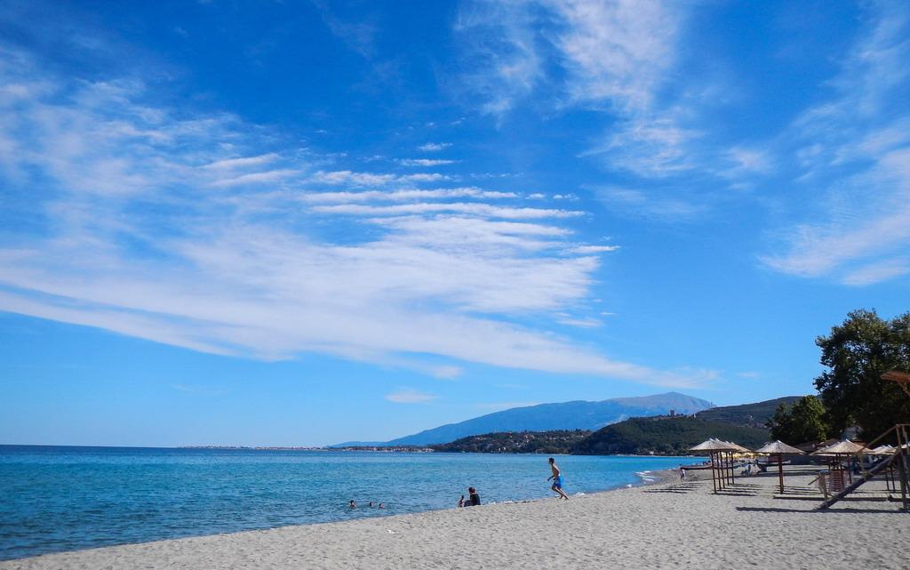 Skotina beach - najlepša plaža Olimpske regije