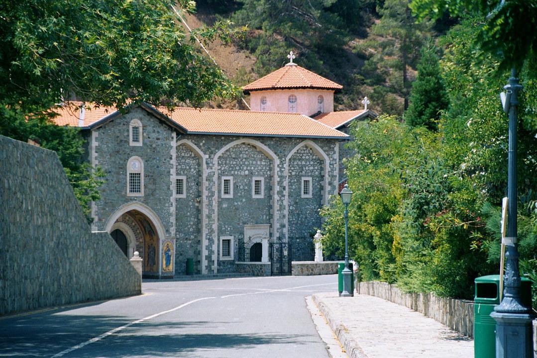 Kikos manastir na planini Trodos na Kipru