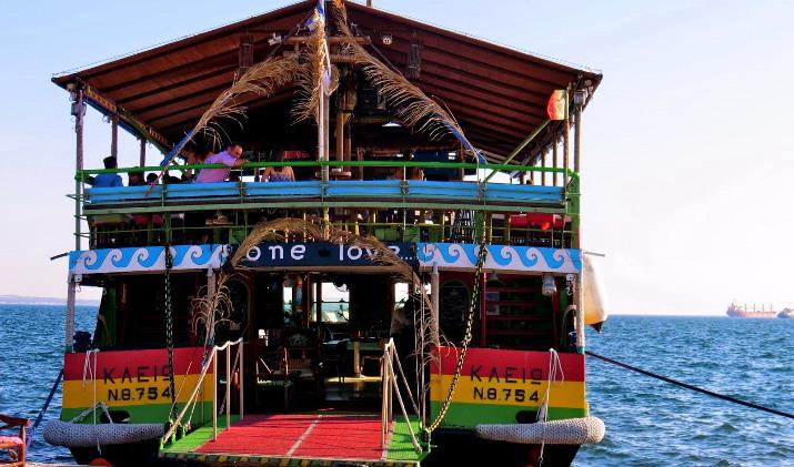 Vožnja brodom - kafićem Solunskim zalivom