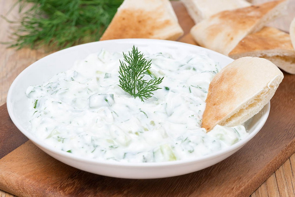 Recept za Tzatziki salatu