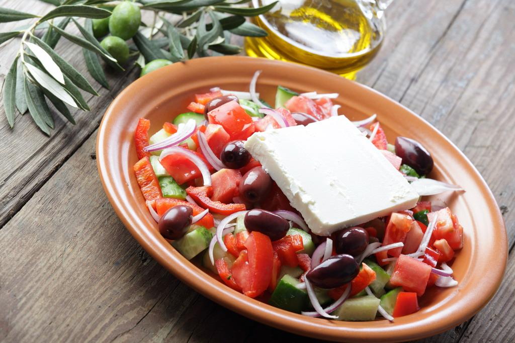 Recept za originalnu grčku salatu