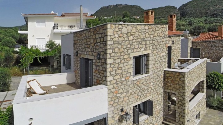 Stone Sea View Apartment Olympiada